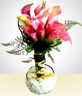 Flowers - Lily of the Nile Arrangement