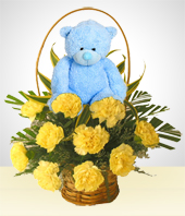 Birth - It's a Boy ¡¡ Sweet Flower Arrangement