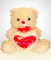 Bears & Balloons - Teddy bear with a Heart