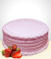 Strawberry Cake - 12 Portions