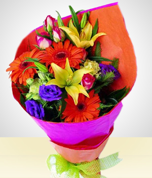 Send Flowers to :  Charming Bouquet