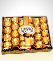 Chocolates - Ferrero Rocher Chocolates 24 pieces
