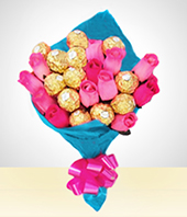 Cakes & Chocolates - Unforgettable Bouquet
