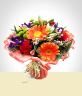 Occasions - Peach Bouquet