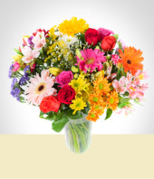Flower Arrangements - Mixed Bouquet