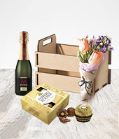 Flores :  - Elegant Mom Box