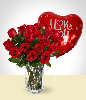 Send Flowers to :  Love Love Set