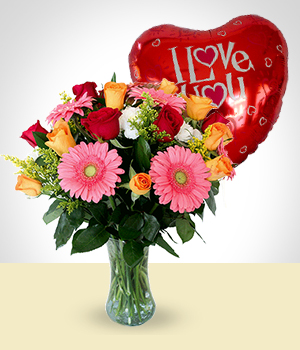 Send Flowers to :  Happy Love