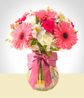 Flower Arrangements - Pink Arrangement