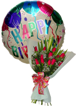 COMBOS Offer - Balloon + Flowers