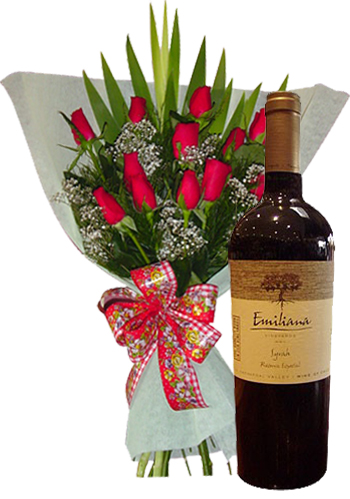 Send Flowers to :  Wine + Flowers