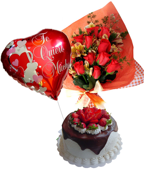 More Gifts - Special Offer: Cake + Flowers + Balloon
