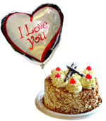 COMBOS Offer - For Him, Special Offer: Cake + Balloon