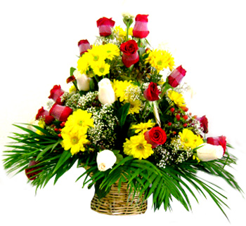 All ocassion - Arrangement in Basket