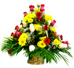 Flower Arrangements - Arrangement in Basket