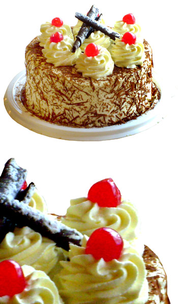 Cakes - Black Forrest Cake - 12 people