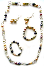 Jewelry - Multicolor chain set
