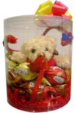 Cute Gifts - Red tender keyring bear