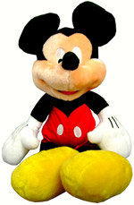 Plush Toys - Mickey Mouse