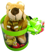 Cute Gifts - Box with teddy bear