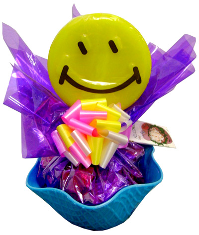 Gift Baskets & Food - Happy face