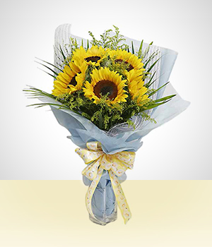 Sun flowers - Inspiration Bouquet